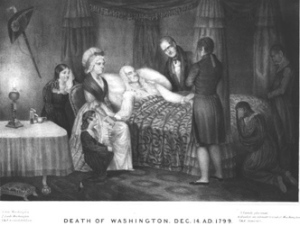scene of GEorge Washington death